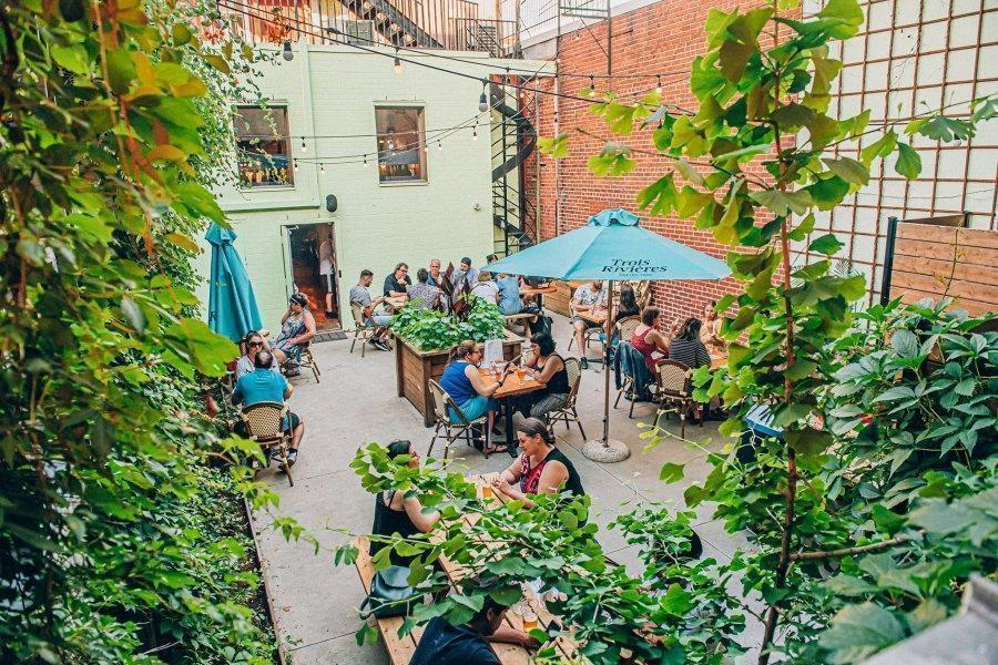 Meilleures Terrasses de Montréal où boire & manger