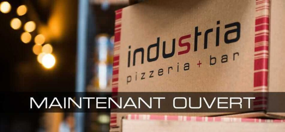 Industria Pizzeria in Anjou is now open