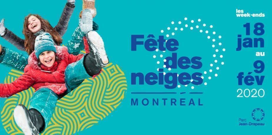 La Fête des Neiges de Montréal 2020 - événement