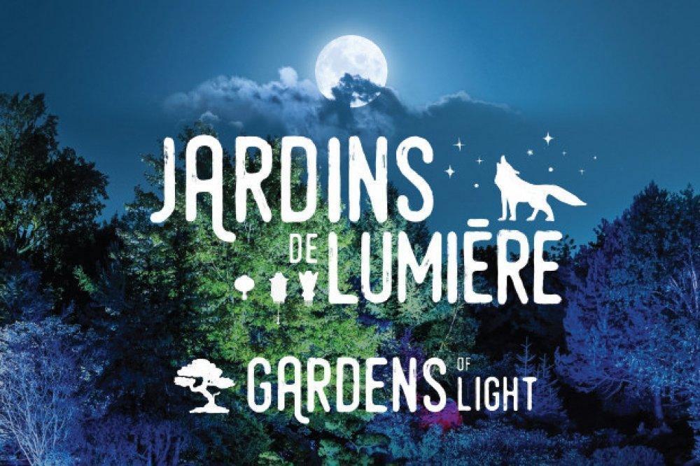 Jardins de lumières: Une ode à la Lune à Montréal en 2021 - événement