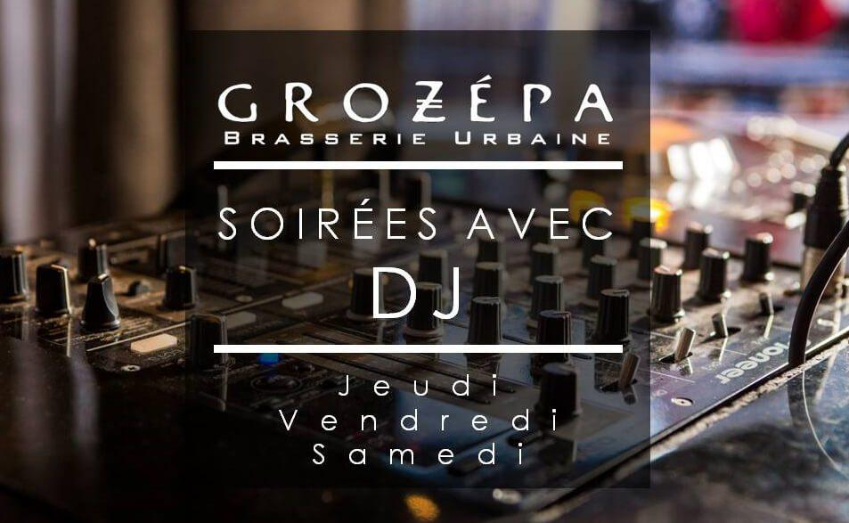 DJ nights at Grozepa