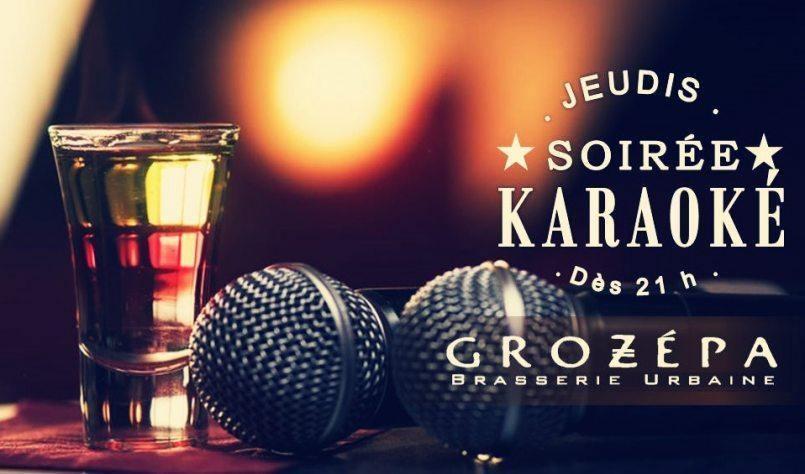 Soirées Karaoké Chez Grozepa! - événement