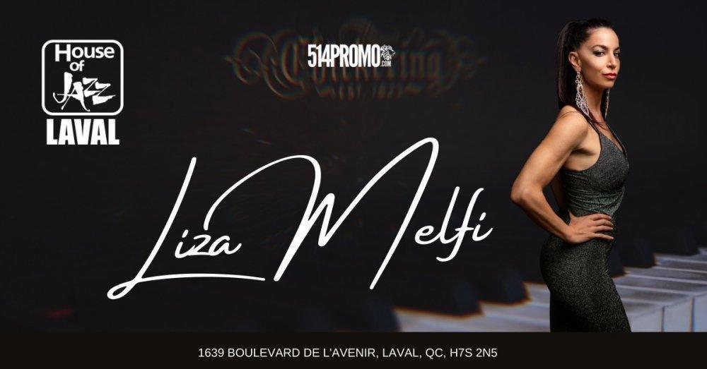 Liza Melfi chez Maison du Jazz (House of Jazz) - événement