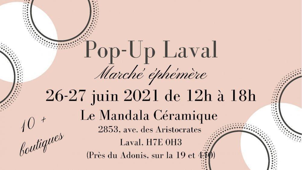 Pop-Up Laval, Marché Éphémère - événement