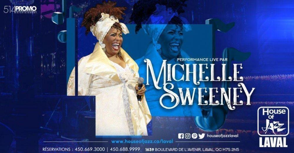 Michelle Sweeney chez Maison du Jazz Laval (House of Jazz) - événement