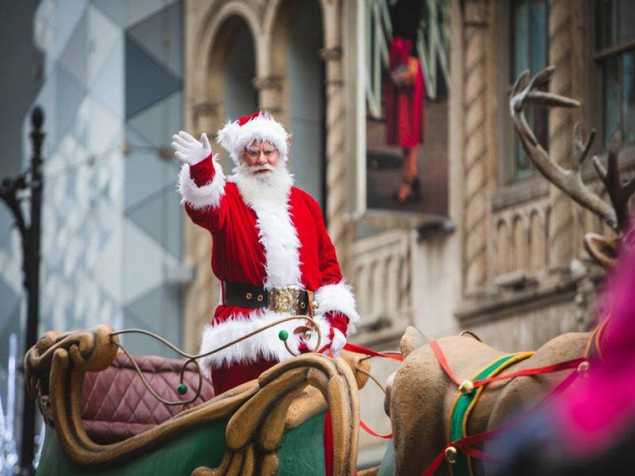 The SANTA CLAUS Parade Downtown Montreal 2019 - Event