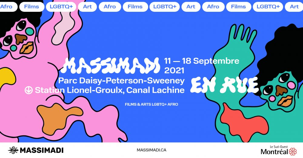 Massimadi en rue : Programmation d'art multidisciplinaire afroqueer - Montréal 2021 - événement