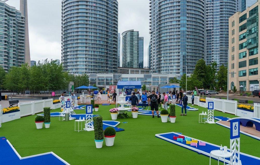 Le Smooth Putt (Mini-Putt) présenté par Grey Goose à Montréal 2021 - événement