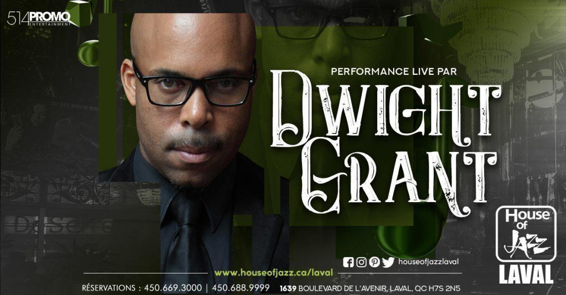 Dwight Grant Chez Maison du Jazz (House of Jazz) - événement