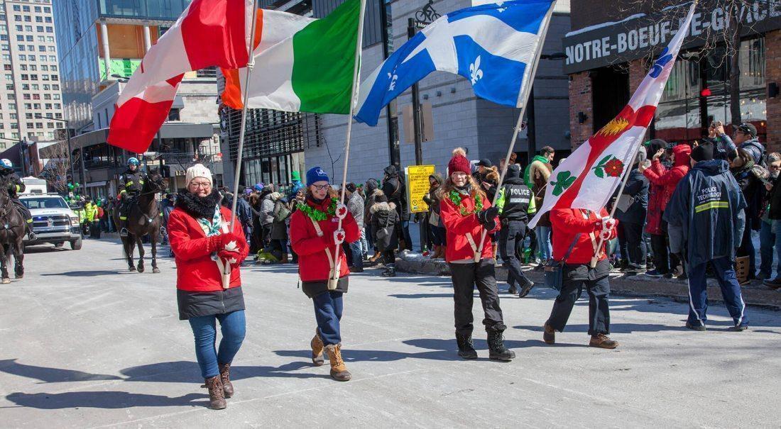 Défilé de la Saint-Patrick de Montréal 2020 - événement